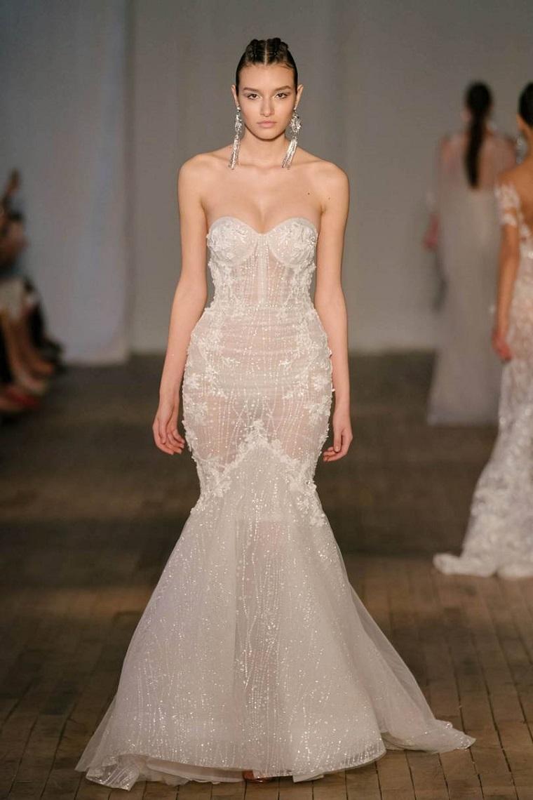 Modern wedding dresses options-designs-pronovias-2019