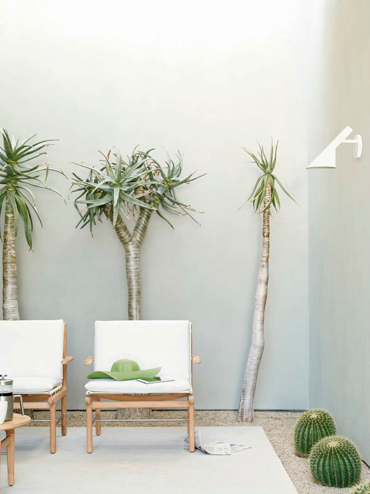 Ideas for decorating the terrace - Photo: Norm Architects