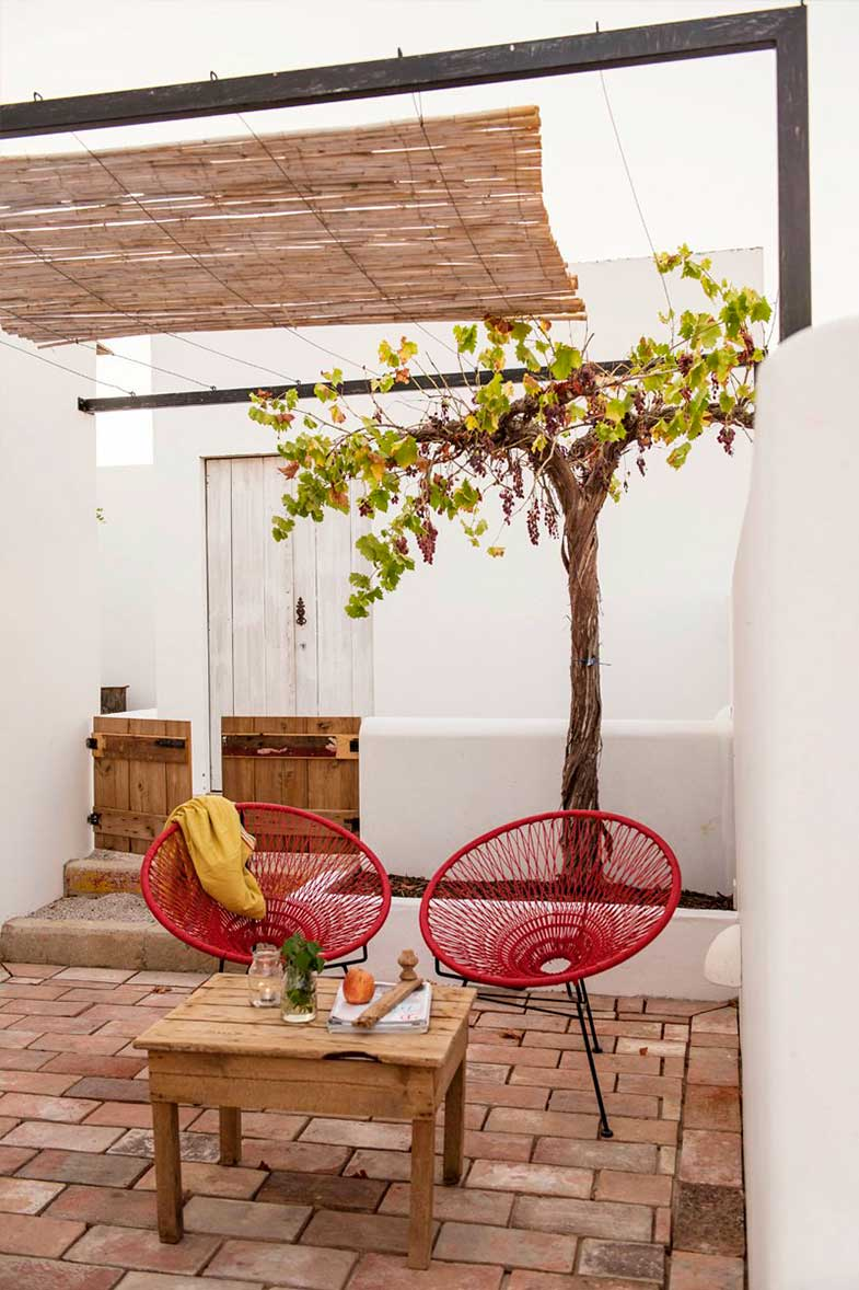 Ideas for decorating the terrace - Photo: Pensaoagricola