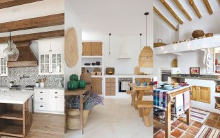 Photos of rustic kitchens