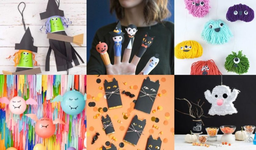 Halloween crafts for kids 2018