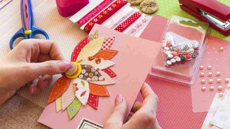leftover decorated notebooks