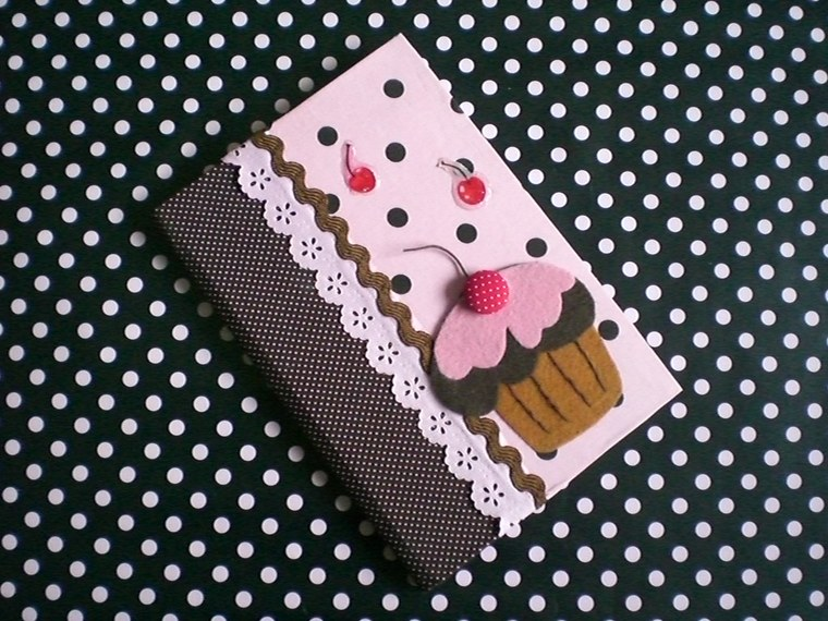 sweet decorated notebooks