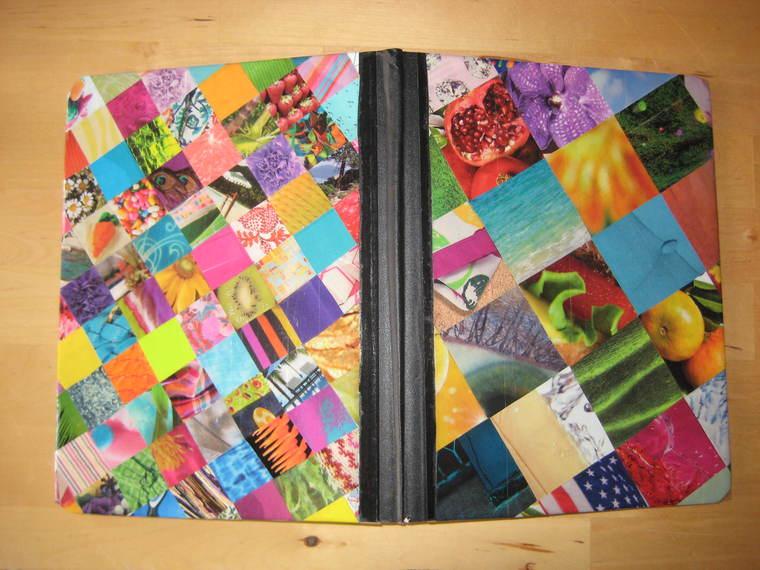 enamel decorated notebooks