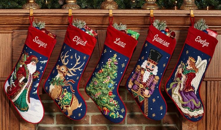 early Christmas socks