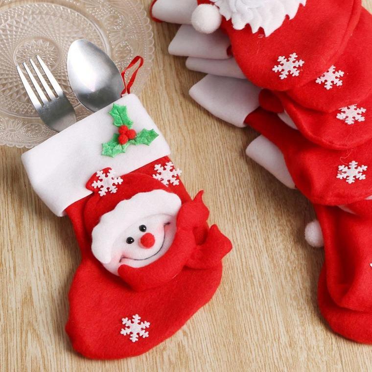 Christmas socks covered