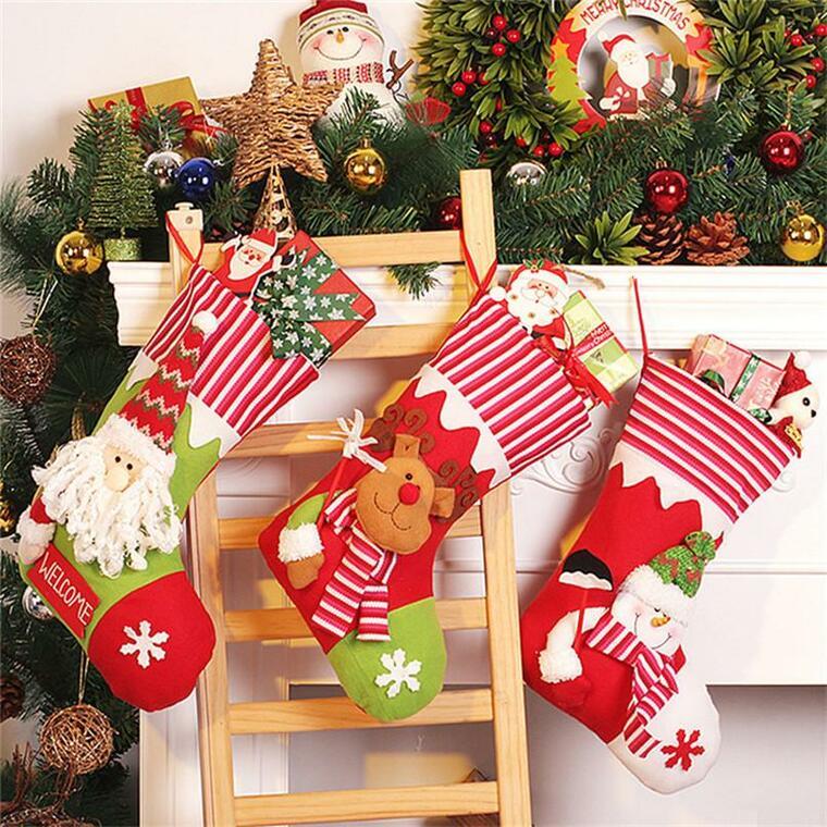 Christmas socks ladder