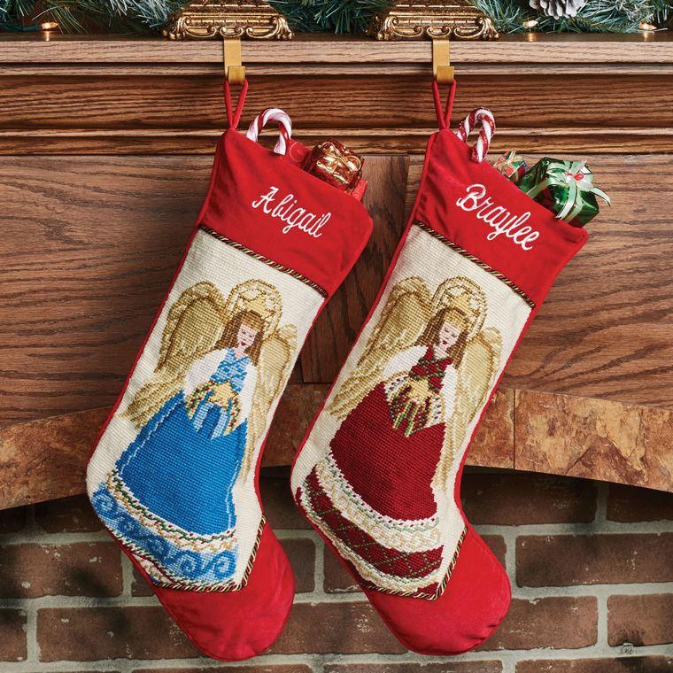 Christmas socks angeles