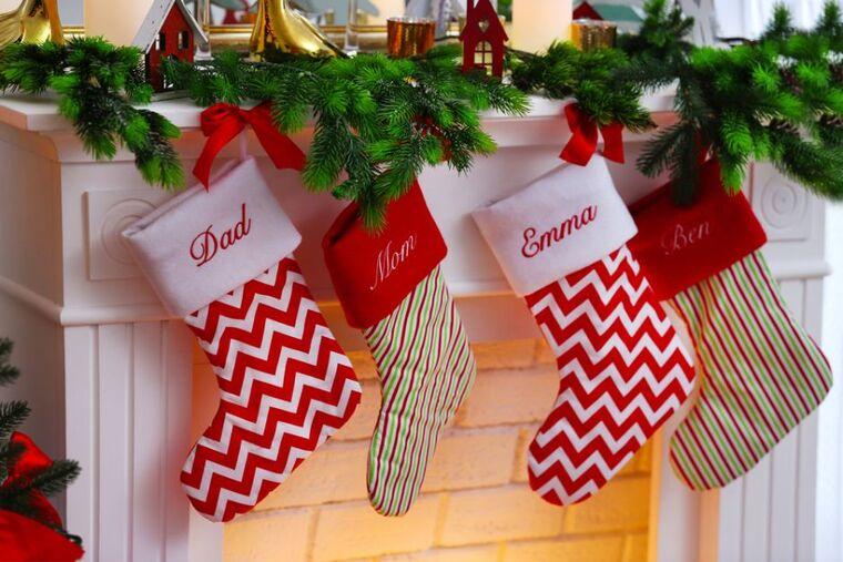 Christmas socks present
