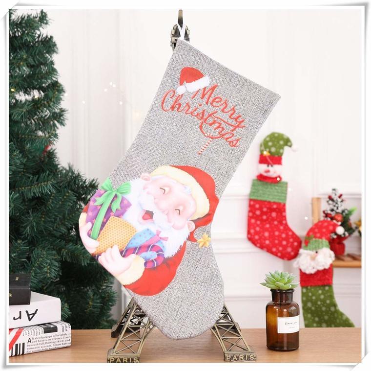 Christmas table socks