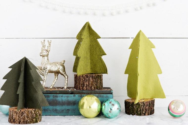 original christmas crafts fabric