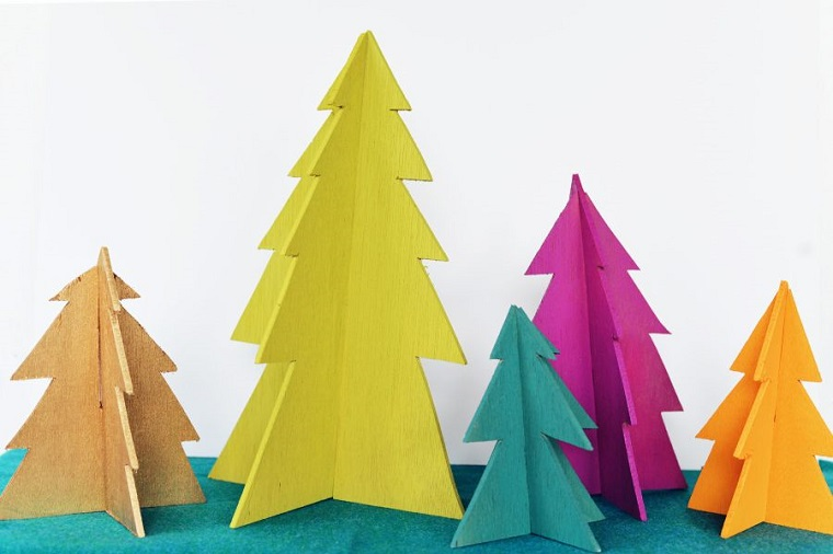 original colorful christmas crafts