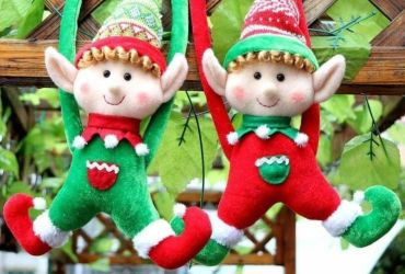 Christmas elves duo
