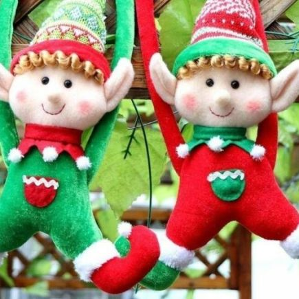 Christmas elves duo