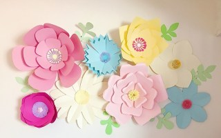 how to make creative cardboard flowers