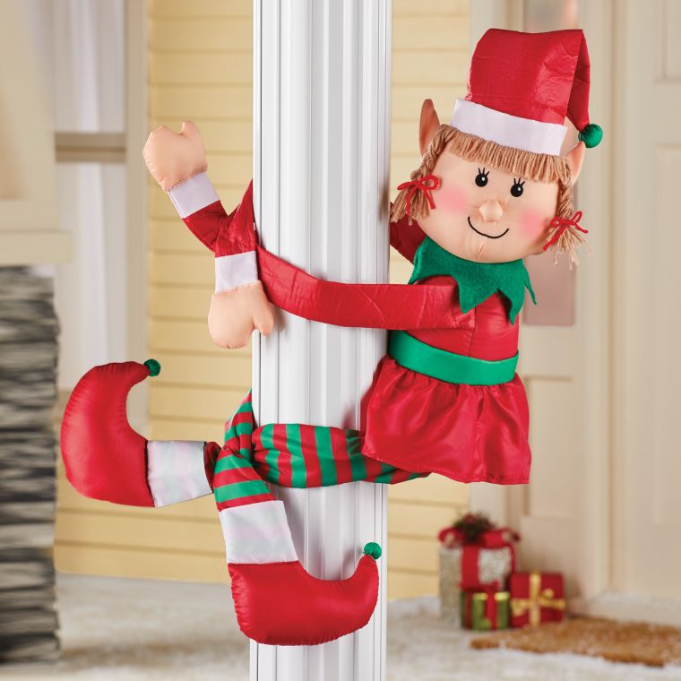 Christmas elves column