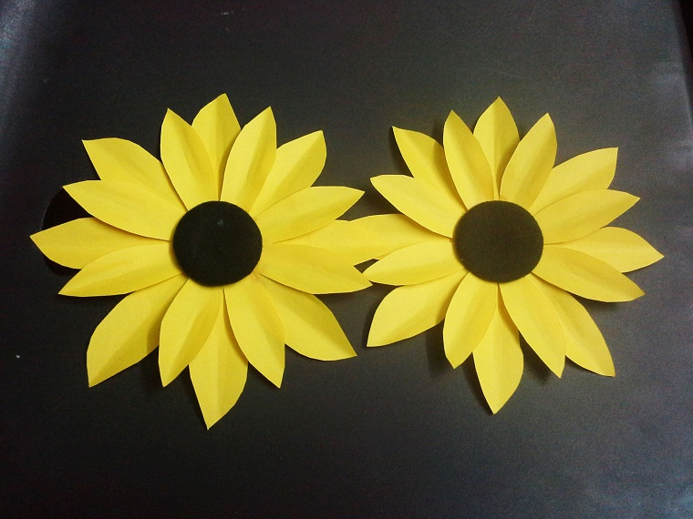 sunflowers-yellow-handicraft-semi-straight