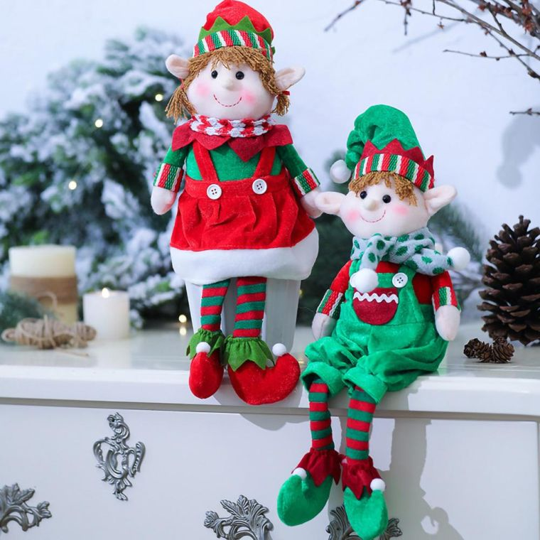 Christmas elves ledge