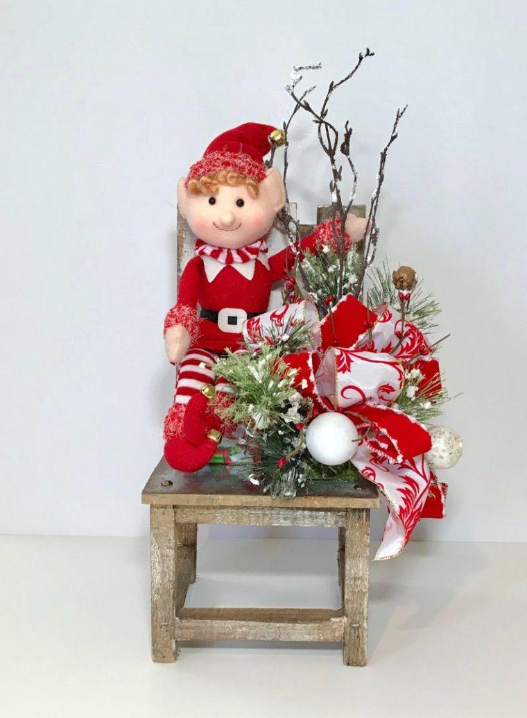 christmas elves chair