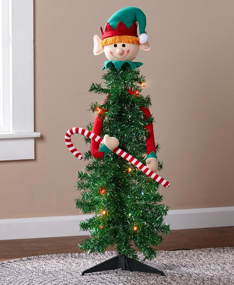 christmas elves cane