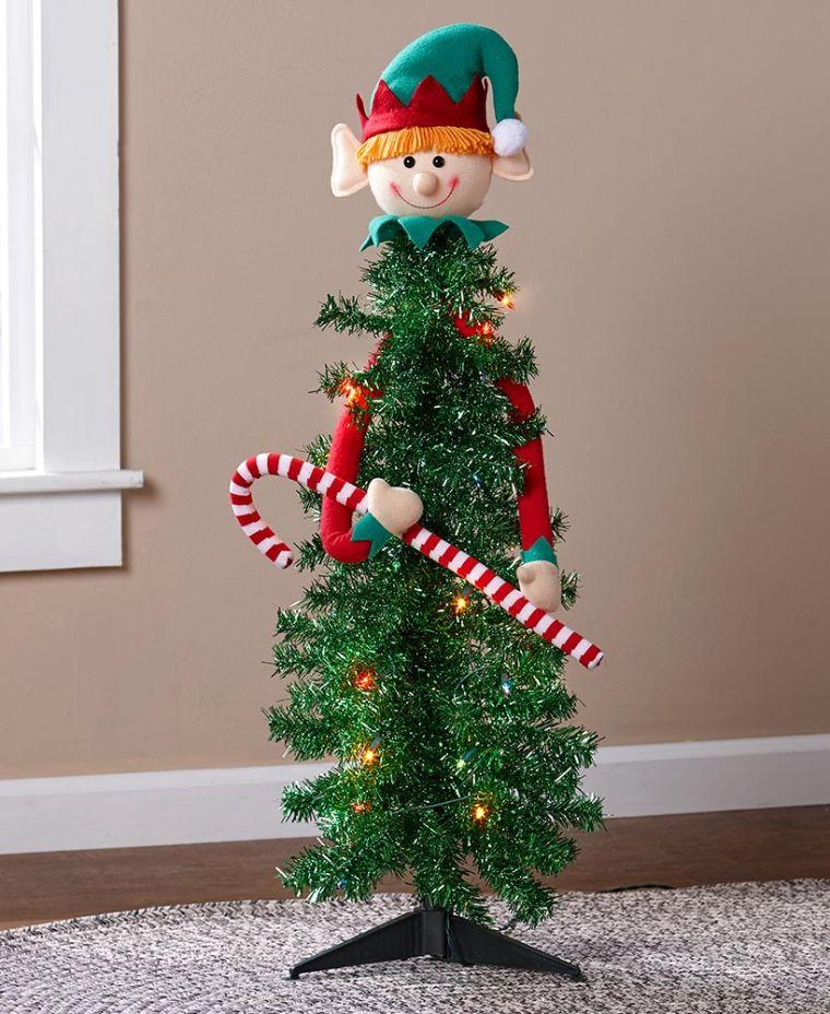 christmas elves cane