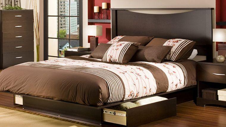 bedrooms bed