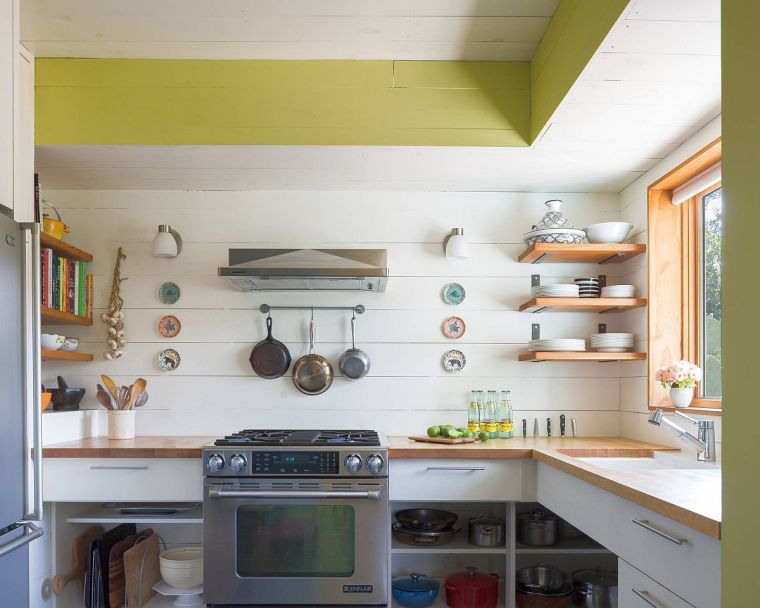 small eclectic style kitchens