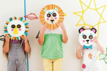 kids crafts masks