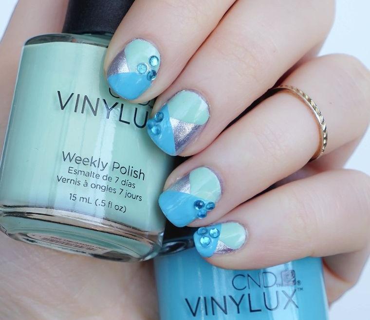 types of vinylux color manicure