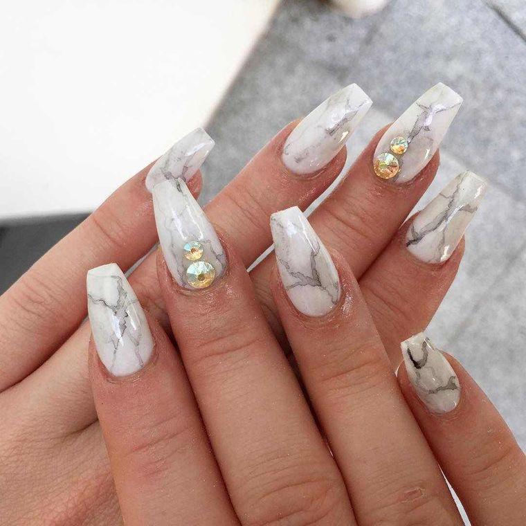 acrylic manicure types