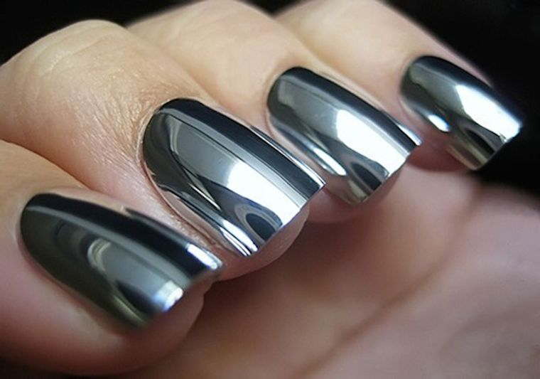 types of mirror manicure