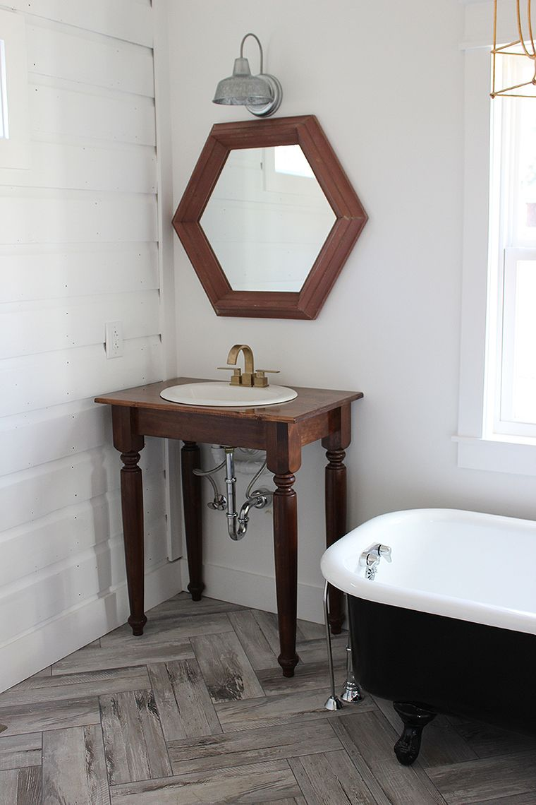 DIY dressing table with table