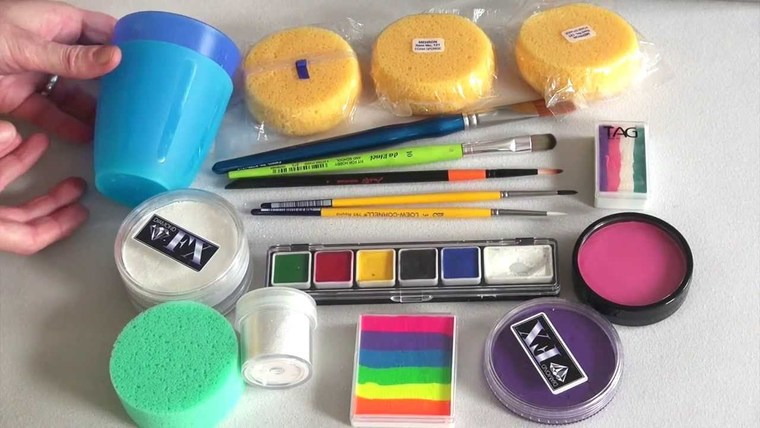 children's face painting kit