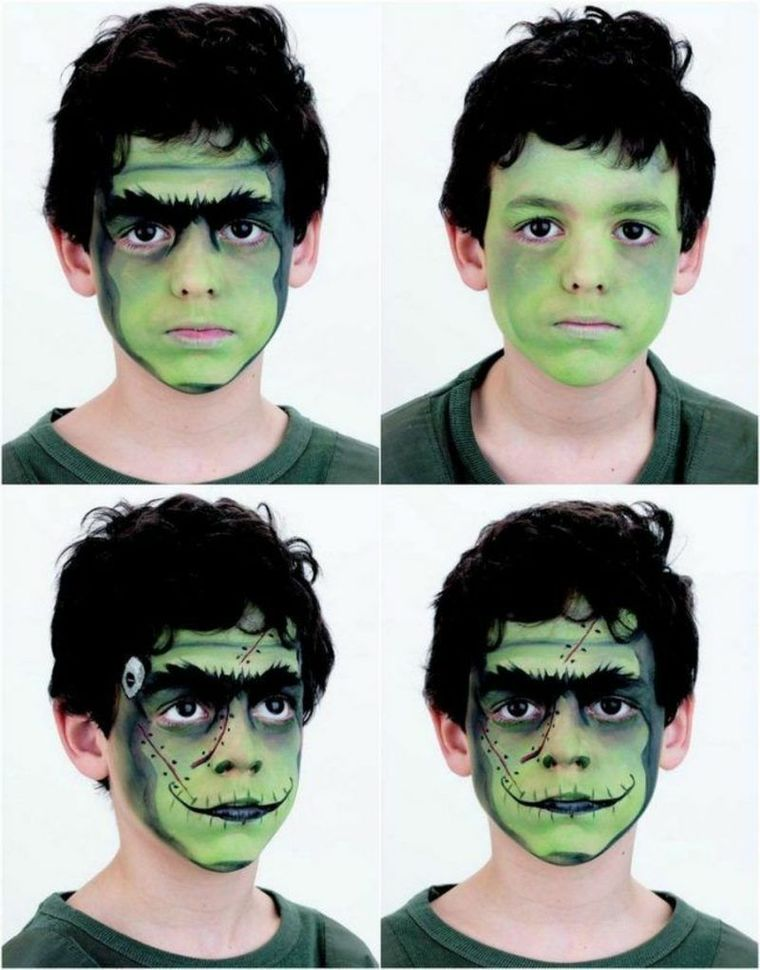 children's face painting mask