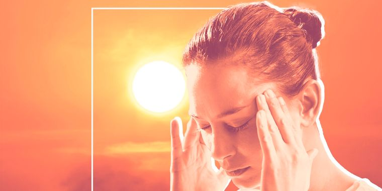 heat stroke high temperatures