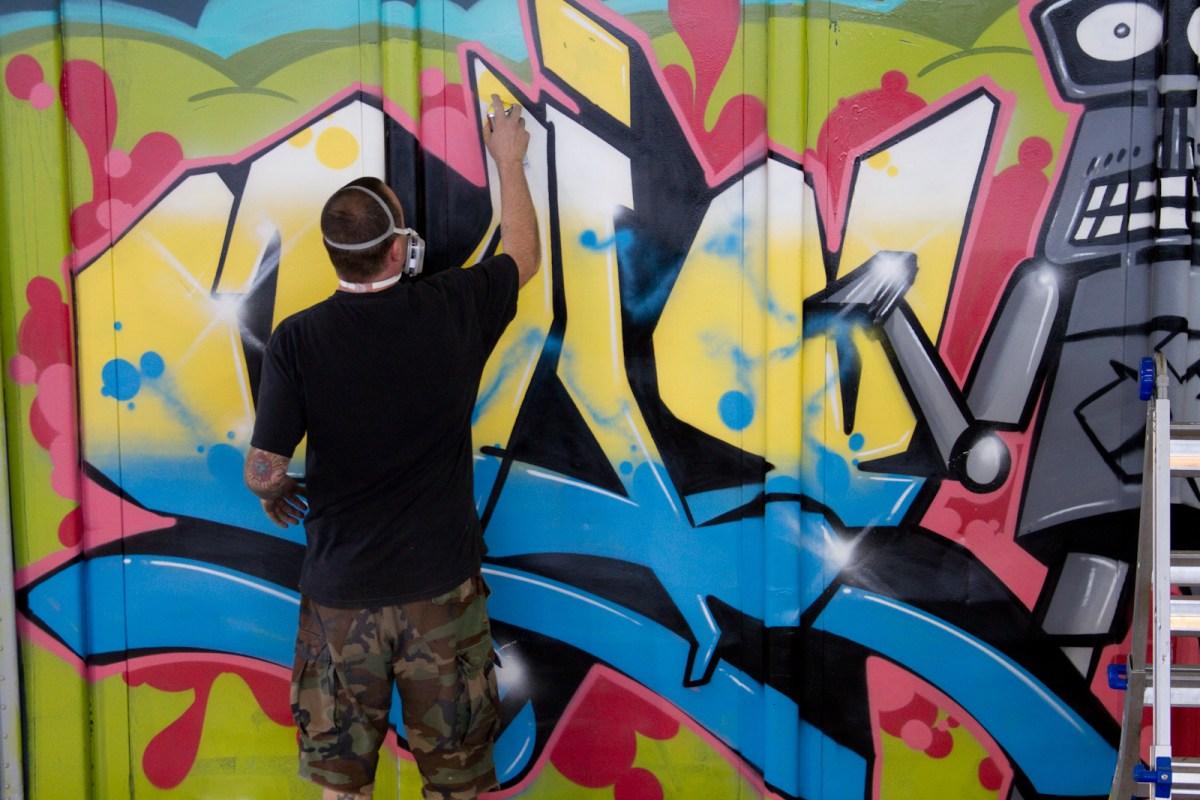 Balcones Burner Bash Graffiti Competition Usual Funk