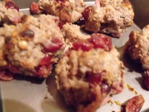 Chestnut, Bacon & Cranberry stuffing balls
