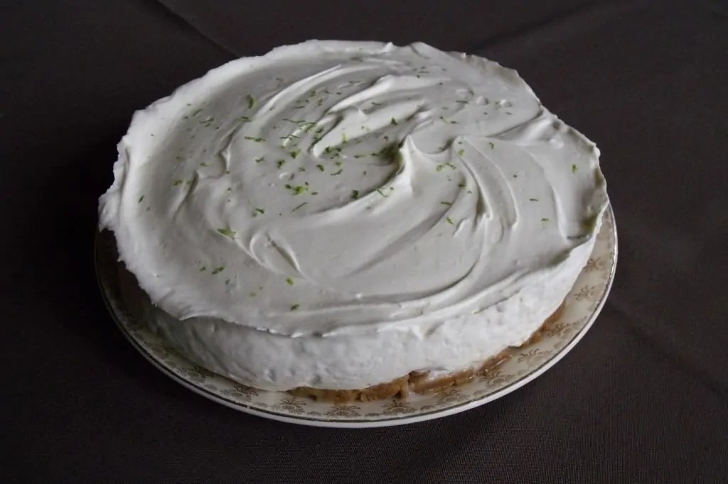 How to make a non-baked gin cheesecake