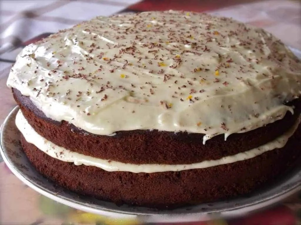 Orange Cake Icing Recipes: Chocolate And Ginger Cake With Orange Icing Recipe