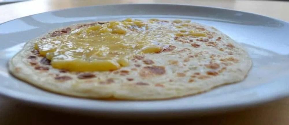 Lemon Curd Crêpes