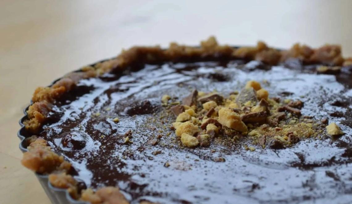 Crunchie Tart