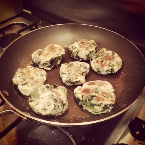 Spinach English Muffins