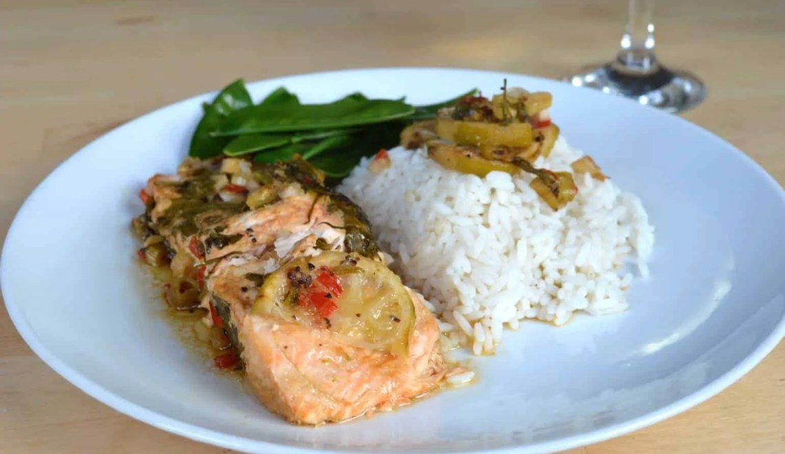 Lime & Chilli Salmon