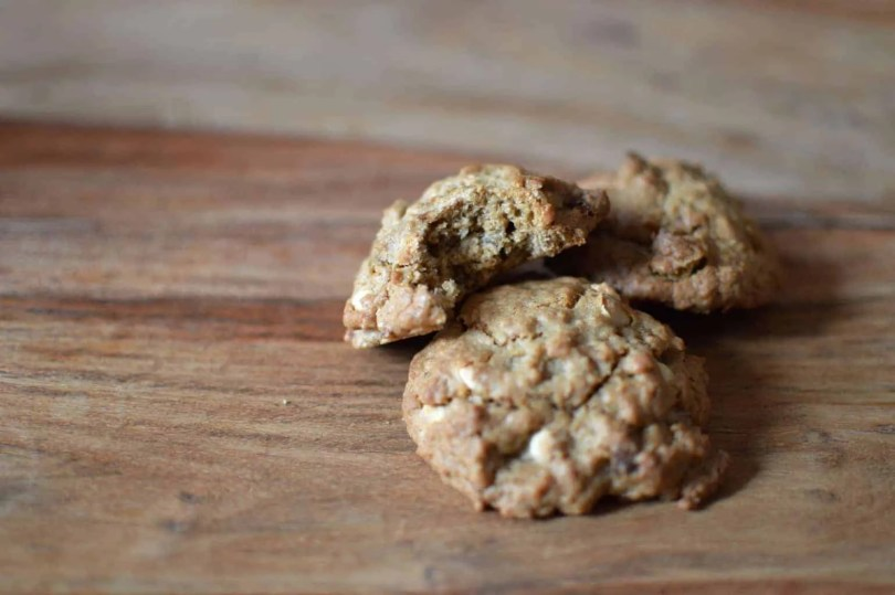 White Chocolate & Cardamom Cookies