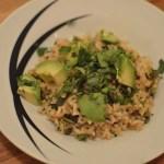 Avocado Rice Bowl