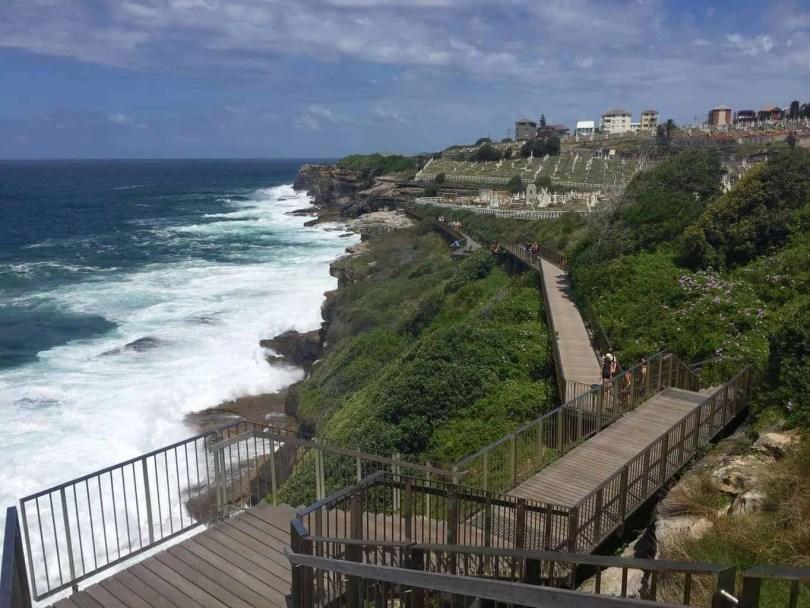 Bondi to Bronte Coastal Path, Sydney