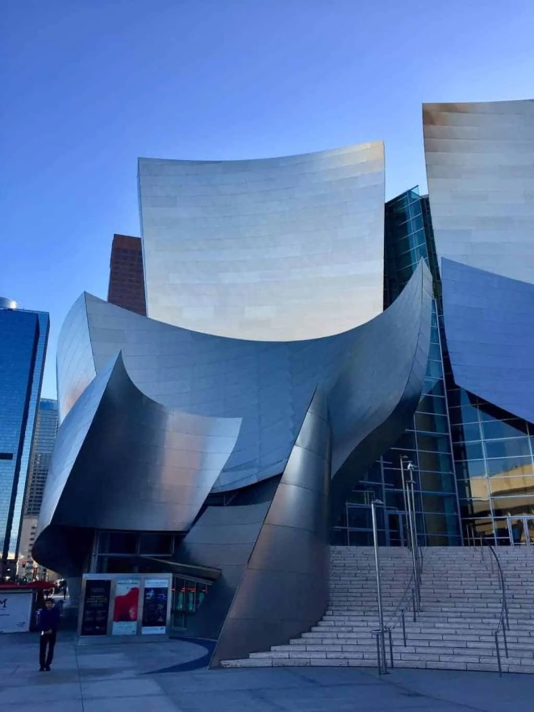 Walt Disney Concert Hall - 48 hours in Los Angeles