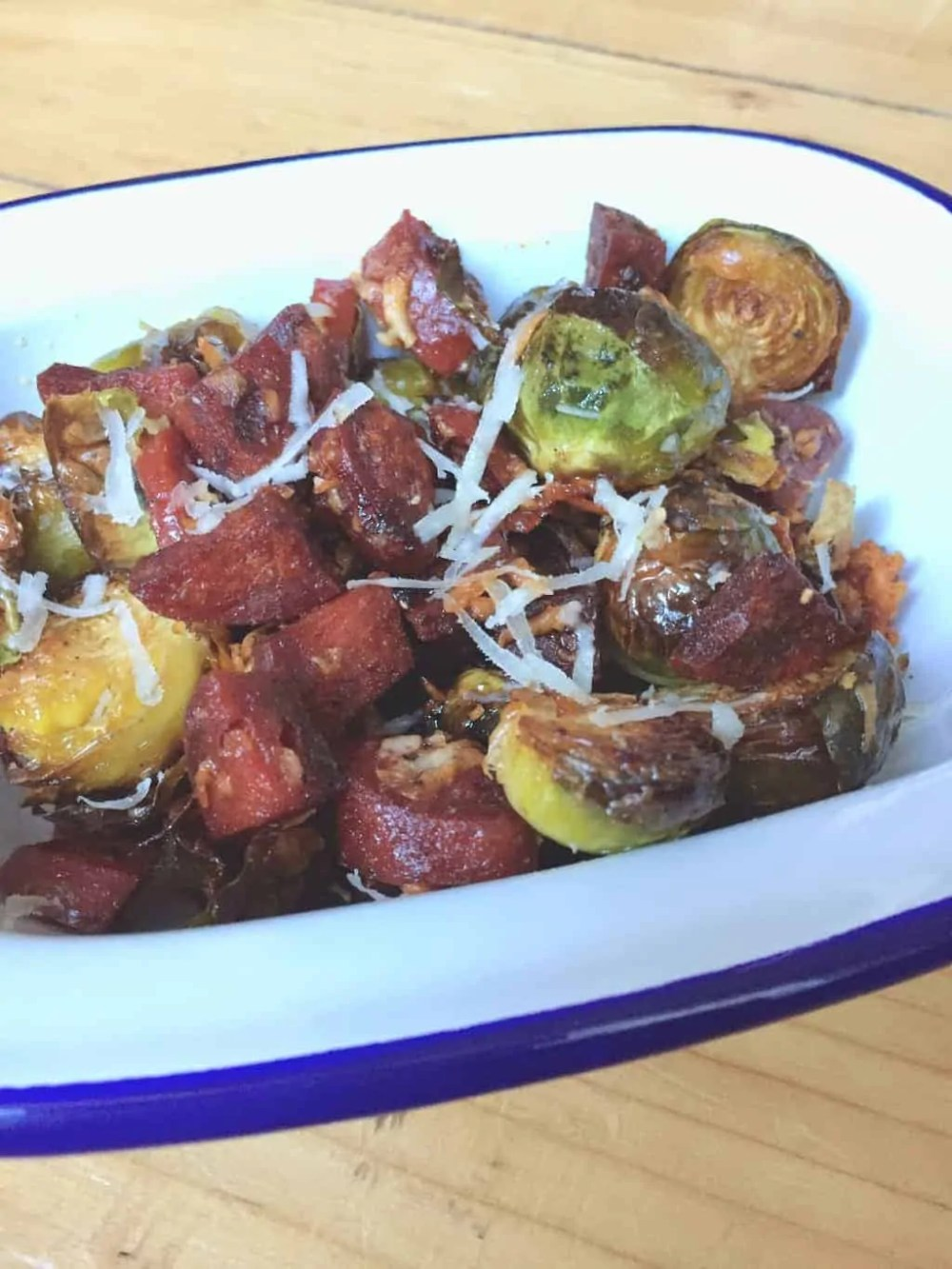 Roast brussel sprout