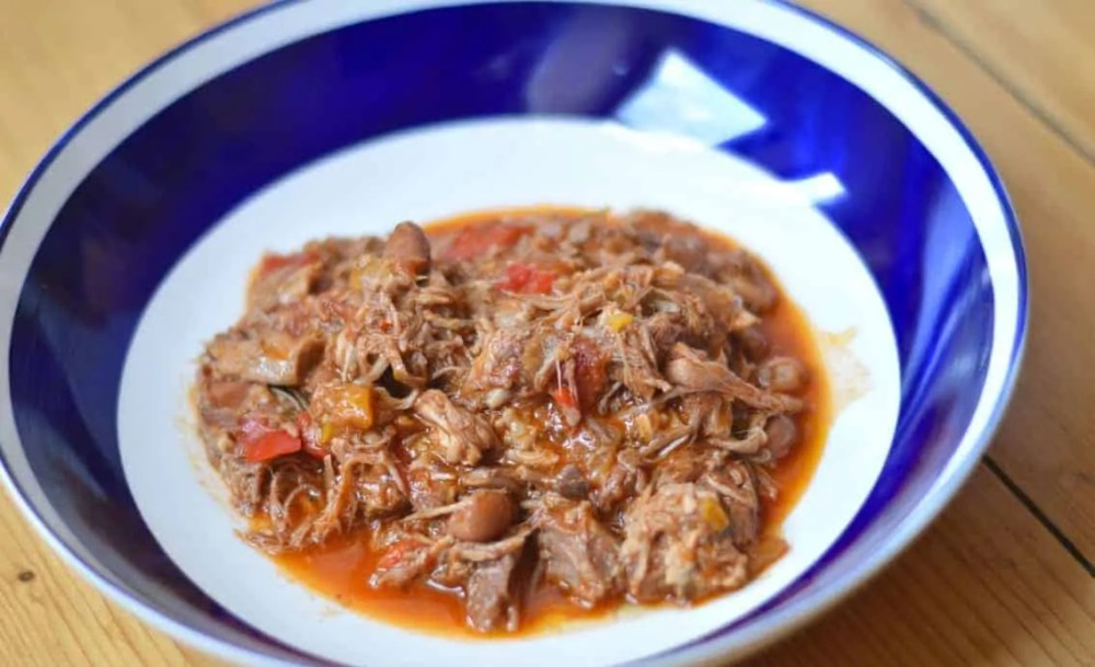 slow cooked pork stew