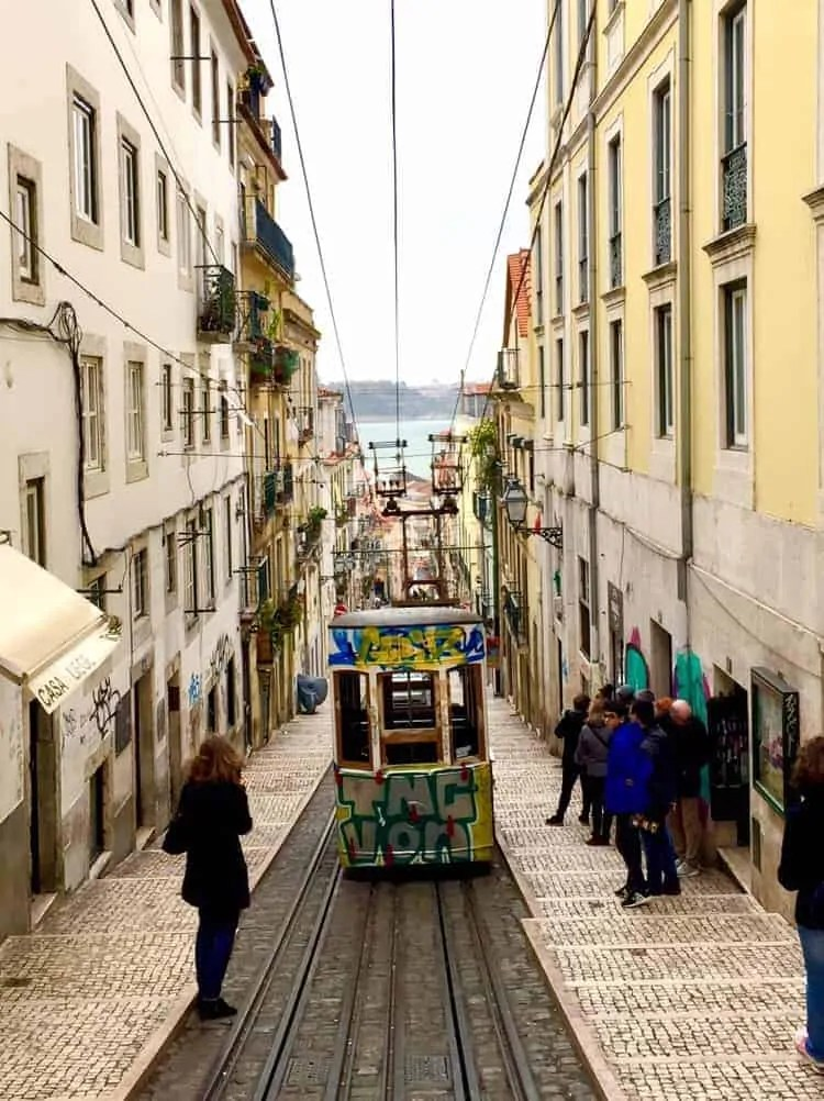 Bica funicular - A relaxed 72 hours in Lisbon